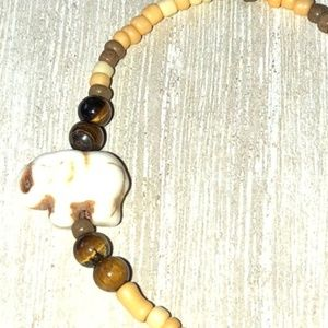 Handmade Jewelry - Handmade Tiger's Eye Bracelet Set